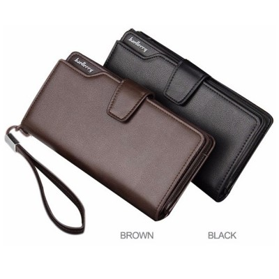 Baellerry S119B Handphone Men Women Wallet Long Purse Leather