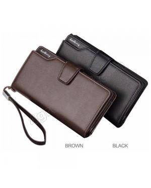 Baellerry Handphone Men Women Wallet Long Purse Leather S119B Bag