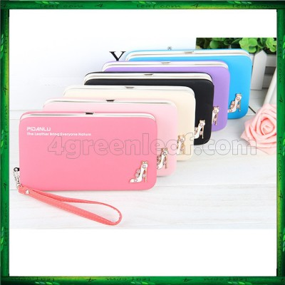 4GL Pidanlu Lady Woman Purse Long Wallet Clutches N1311