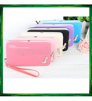 Pidanlu Lady Woman Purse Long Wallet Clutches N1311