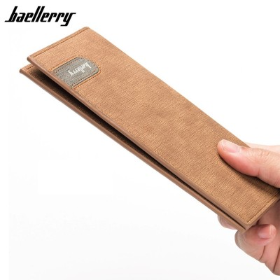 4GL Baellerry 13856-3 Long Wallet Purse Men Wallet Card Holder Dompet