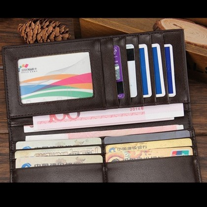 4GL Baellerry R579-3 Stylish Long Wallet Purse Card Holder Dompet
