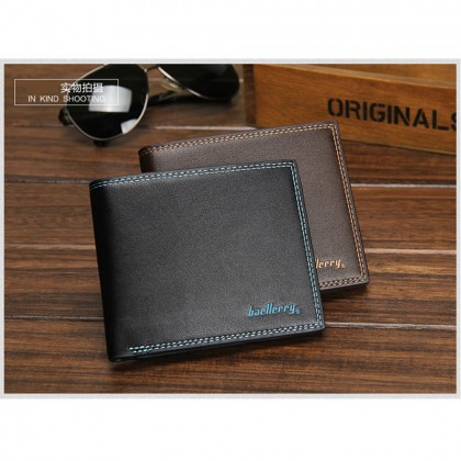 4GL Baellerry Fashion Men Short Wallet Purse Dompet R579