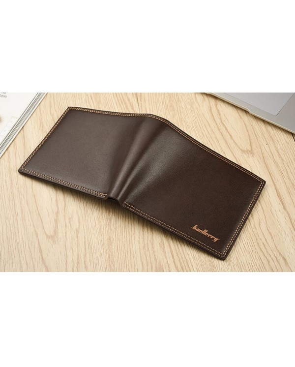 4GL Baellerry Fashion Men Short Wallet Purse Dompet R579