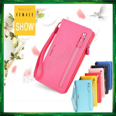 4GL Baellerry Handphone Purse Long Zipper Wallet Wristlet N1502