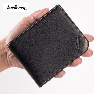 4GL Baellerry Men Women Wallet Short Purse Leather DG128