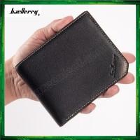 Baellerry G128 Men Women Wallet Short Purse Leather