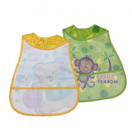 Baby Bib Waterproof and Oil Proof Easy Clean Bib