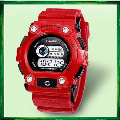 Synoke 001 Unisex Men Women Water Resistant Digital Sport Watch Watches