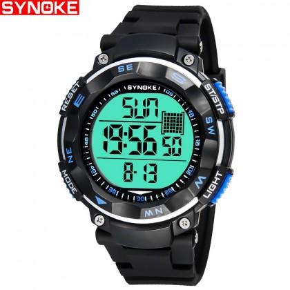 4GL Synoke 67896 Unisex Water Resistant Digital Sport Watch Jam Tangan
