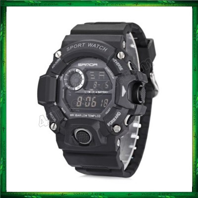 Sanda 326 Unisex Men Women Water Resistant Digital Sport Watch
