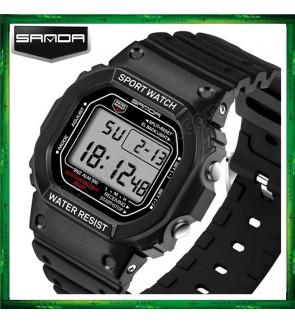 Sanda 293 Unisex Men Women Water Resistant Digital Sport Watch Watches