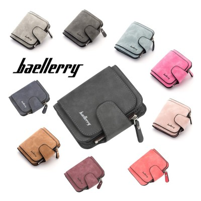 4GL Baellerry Women Purse Short Zipper Wallet Wristlet N2346