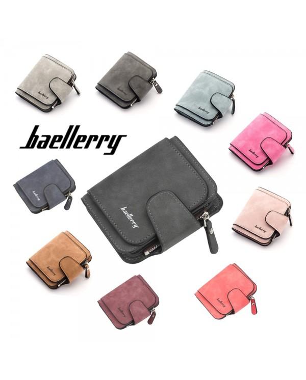 4GL Baellerry N2346 Women Purse Short Zipper Wallet Wristlet