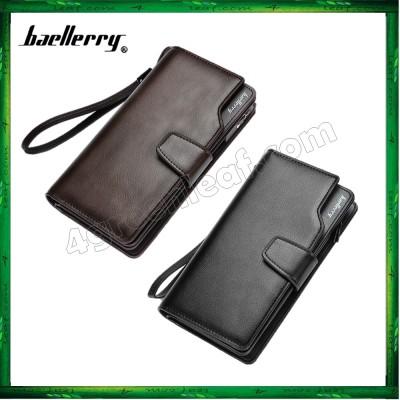 Baellerry S1063 23 Card Slots Men Women Long Wallet Leather Big Capacity