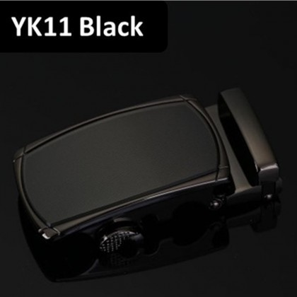 4GL YK Series Belt Business Men Leather Automatic Buckle Belts Luxury Belt 130cm