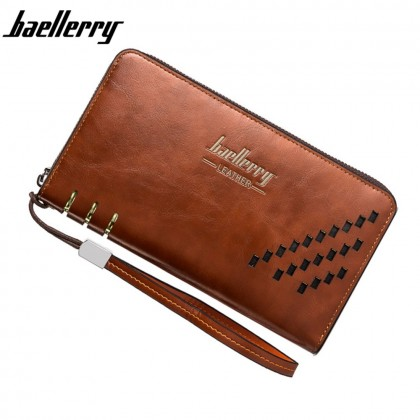 4GL Baellerry SW009 Premium Leather Long Wallet Purse Dompet