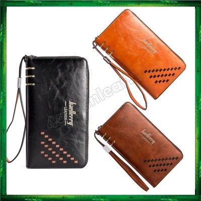 Baellerry Premium Leather long Wallet Purse SW009