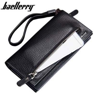 4GL Baellerry S1507 Premium Leather Long Wallet Purse