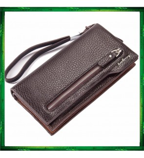 Baellerry Premium Leather Long Wallet Purse S1507