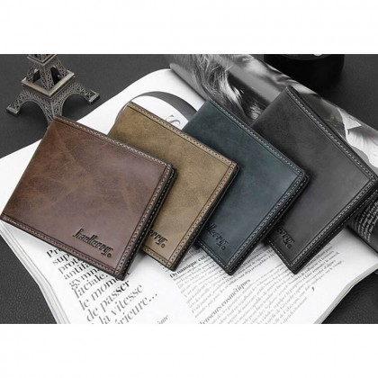 4GL BAELLERRY Men Women Short Wallet Purse Dompet D1301