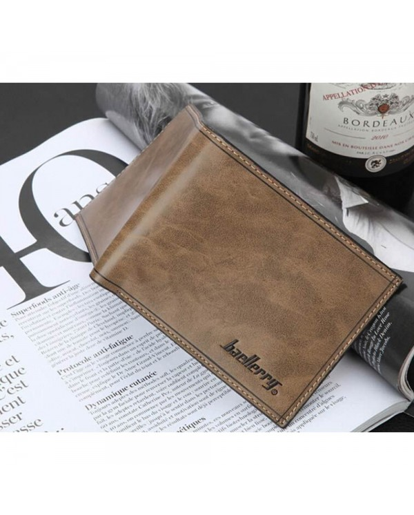 4GL BAELLERRY Men Women Short Wallet Purse Dompet D1301