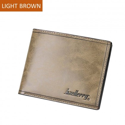 4GL Baellerry D1301 Short Wallet Men Women Purse Dompet