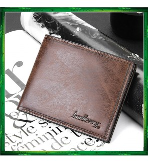 Baellery Men Women Short Wallet Purse D1301