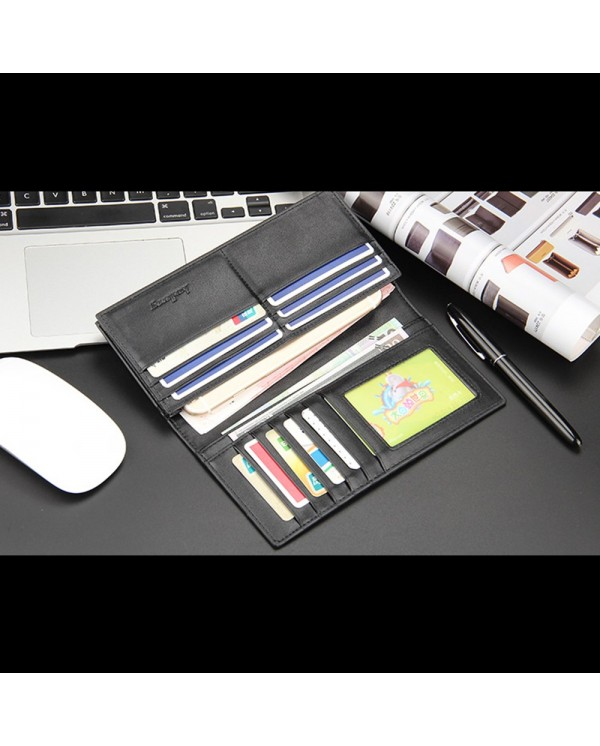 4GL BAELLERRY Long Wallet Purse Men Wallet Card Holder Dompet C0730