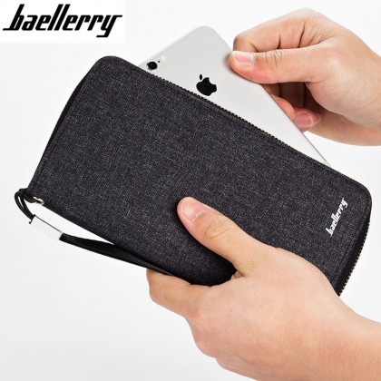 4GL Baellerry S1522 Canvas Long Wallet Purse Dompet