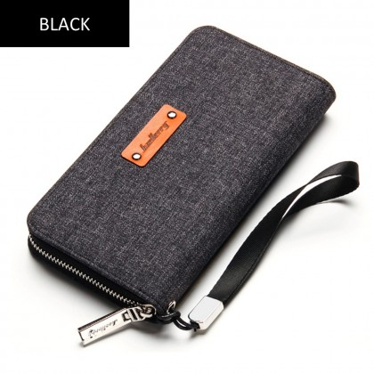 4GL Baellerry S1521 Long Wallet Canvas Premium Wallets Purse