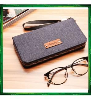 Baellerry Canvas Premium long Wallet Wallets Purse S1521