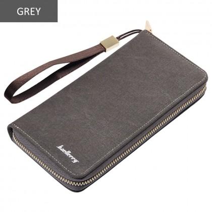 4GL Baellerry S6032 Long Wallet Canvas Premium Wallets Purse Dompet