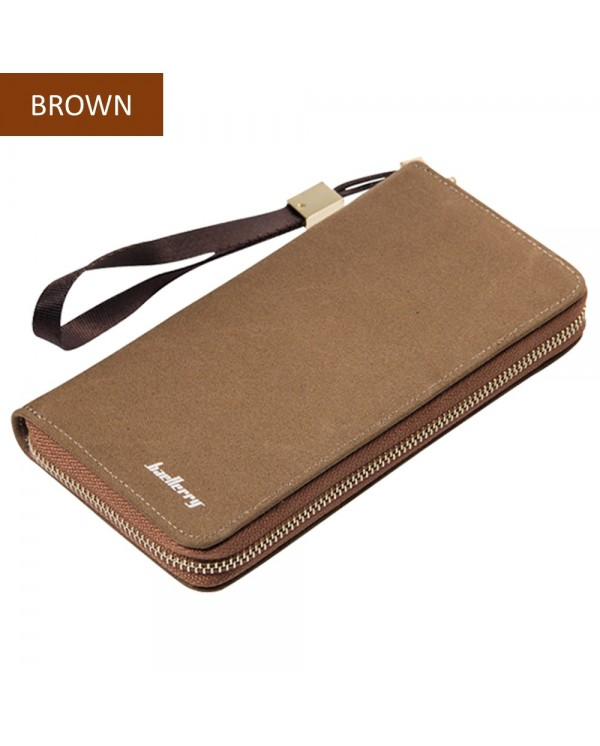 4GL Baellerry S6032 Canvas Premium Long Wallet Wallets Purse Dompet