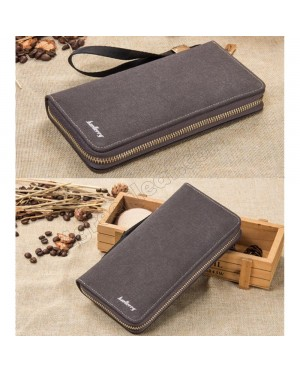 Baellerry Canvas Premium long Wallet Wallets Purse S6032