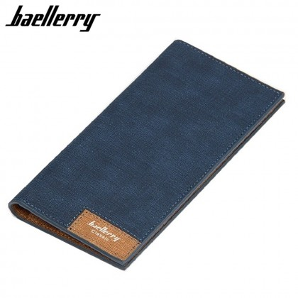 4GL Baellerry 13855-3 Canvas Premium long Wallet Wallets Purse