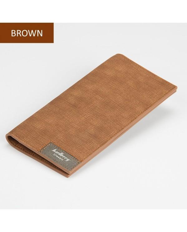 4GL Baellerry 13855-3 Canvas Premium long Wallet Wallets Purse