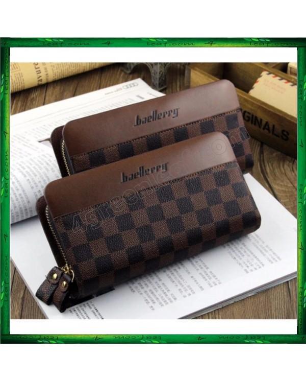4GL Baellery S6335 Premium PU Leather Men Wallet Purse Clutch Handbag