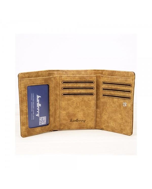 4GL BAELLERRY Men Canvas Wallet Wallet Card Holder Purse Dompet 3688