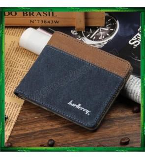 Baellerry Canvas Mens Wallets Card Holder Multi Pockets Credit Card Purse 3288