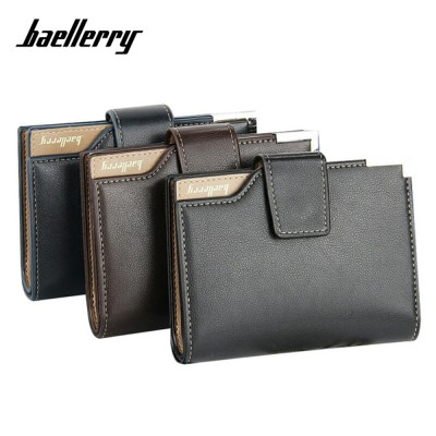 4GL BAELLERRY Men Women Wallet Short Purse Leather DK191(without zip)