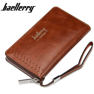 4GL BAELLERRY Premium Leather long Wallet Purse SW007