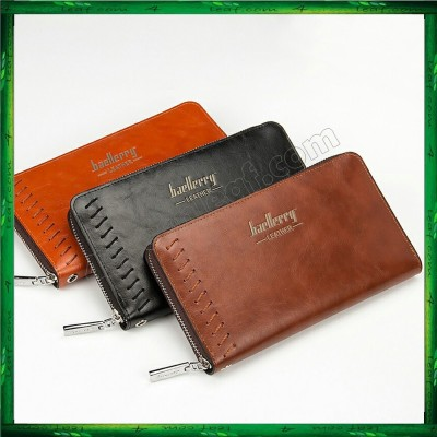 Baellerry Premium Leather long Wallet Purse SW007