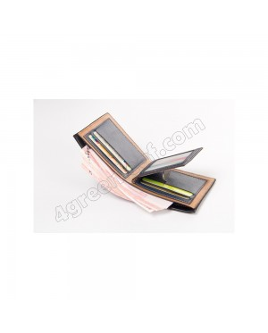 Baellerry Top Quality Men Short Wallet Wallets Leather Purse DR002