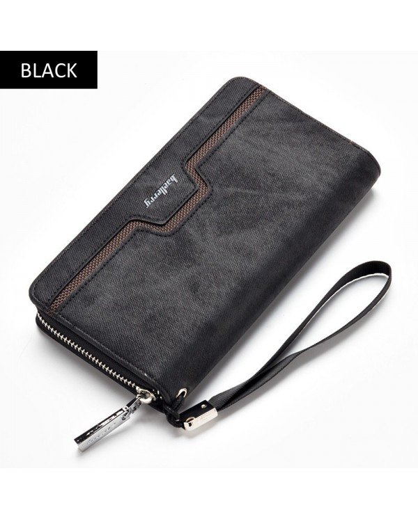 4GL Baellerry S1513 Handphone Men Women Wallet Long Purse Dompet