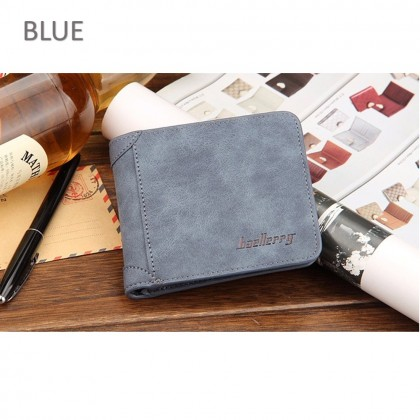 4GL BAELLERRY Men Women Wallet Short Purse Dompet D1166 Cross