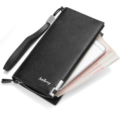 Baellerry SW004 SW005 Handphone Men Women Wallet Long Purse Leather