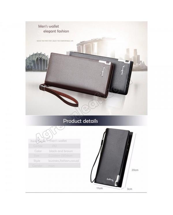 Baellerry Handphone Men Women Wallet Long Purse Leather SW004 SW005