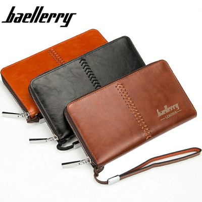 4GL Baellerry SW008 Premium Leather Long Wallet Purse Dompet