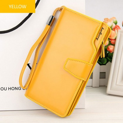 4GL Baellerry N1503 Handphone Purse Long Zipper Wallet Wristlet Dompet